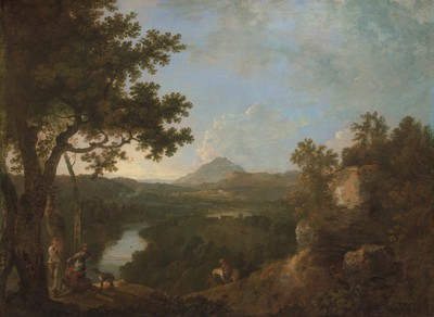 1771 Richard Wilson Takes a View