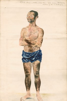 "Portrait,Tah-too Duari, a native of Cape Palmas, Upper Guinea, West Africa..."" by Elizabeth [Rutherford] Savage"