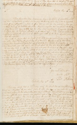 Letter from T Nettleton, Halifax, Yorkshire, to James Jurin