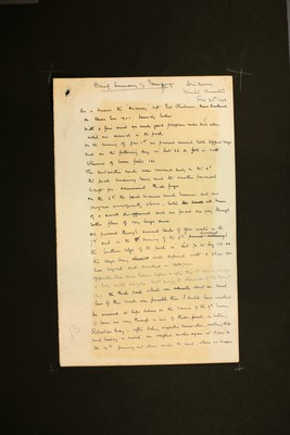Brief summary of proceedings at 'Discovery' Winter Quarters by Captain Robert Falcon Scott