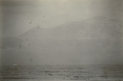 Telephoto of Mount Erebus