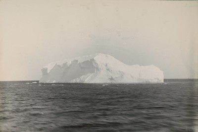 Iceberg off Great Barrier