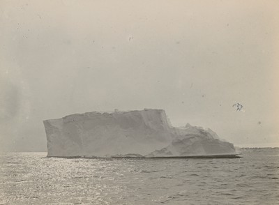 Terraced iceberg