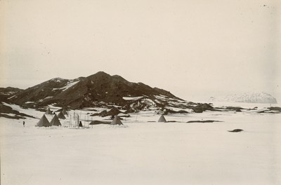 View of eskers. South of camp.