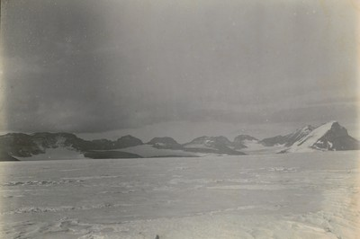Panorama of Western Glacier