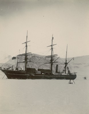 Ship after first gale