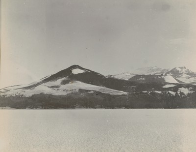 The knoll and slopes of Mount Terror from sea ice
