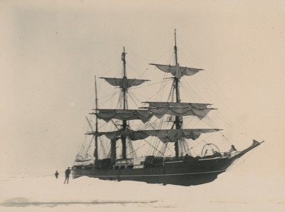 Ship in pack [ice]