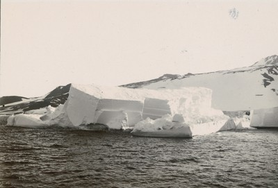 Iceberg off Cape Crozier