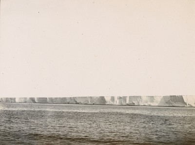 Part of the Great Ice Barrier