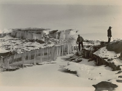 Peculiar ice formation, McMurdo Strait