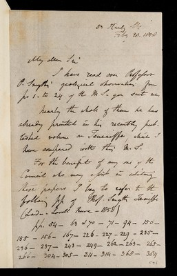 Referee report by C. Lyell on 'Astronomical Experiment on the Peak of Teneriffe, Carried out under the Sanction of the Lords Commissioners of the Admiralty' by C. Piazzi Smyth